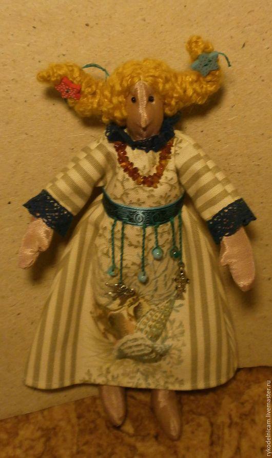 """Коллекционные куклы ручной работы. Ярмарка Мастеров - ручная работа. Купить """"Морской ангел"""", созданный на берегу Балтийского моря. Handmade."""