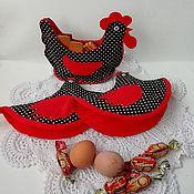 Для дома и интерьера handmade. Livemaster - original item Set for kitchen Rooster and chicken. Handmade.