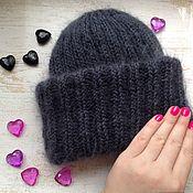Аксессуары handmade. Livemaster - original item Knitted women`s hat in Takori style