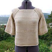 """Одежда ручной работы. Ярмарка Мастеров - ручная работа """"Прованс"""" блуза из хлопка. Handmade."""