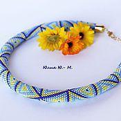 Украшения handmade. Livemaster - original item Necklace Picasso beaded harness. Handmade.