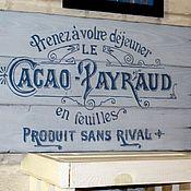 Картины и панно ручной работы. Ярмарка Мастеров - ручная работа Панно деревянное Французский стиль. Handmade.