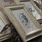 Для дома и интерьера ручной работы. Ярмарка Мастеров - ручная работа эко-панно прованс  шебби-шик пастельные тона рустик. Handmade.