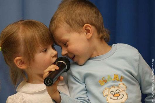 """Фотокартины ручной работы. Ярмарка Мастеров - ручная работа. Купить Фотокартина """"Музыка для двоих"""". Handmade. Комбинированный, музыка, вокал, дети"""