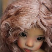 Куклы и игрушки ручной работы. Ярмарка Мастеров - ручная работа Парик для куклы. Для примера. Handmade.