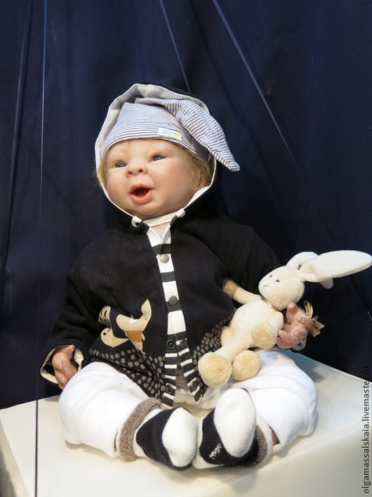 """Куклы-младенцы и reborn ручной работы. Ярмарка Мастеров - ручная работа. Купить кукла-младенец реборн """"Филипп"""".Авторская роспись.. Handmade."""