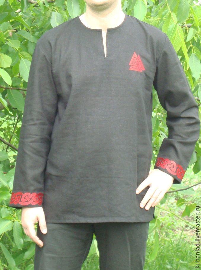 Shirt embroidered 'Truvor', Cosplay costumes, Starominskaya,  Фото №1