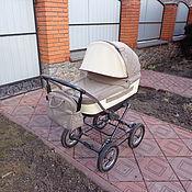 Работы для детей, ручной работы. Ярмарка Мастеров - ручная работа Козырек на коляску с одной секцией. Handmade.