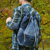 Сумки и аксессуары handmade. Livemaster - original item Backpack denim Australia. Handmade.