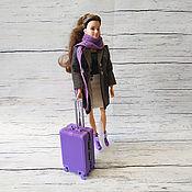 Аксессуары для кукол и игрушек ручной работы. Ярмарка Мастеров - ручная работа Чемодан для куклы. Handmade.