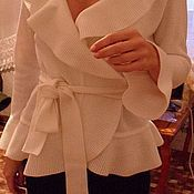 Одежда ручной работы. Ярмарка Мастеров - ручная работа жакет -5. Handmade.