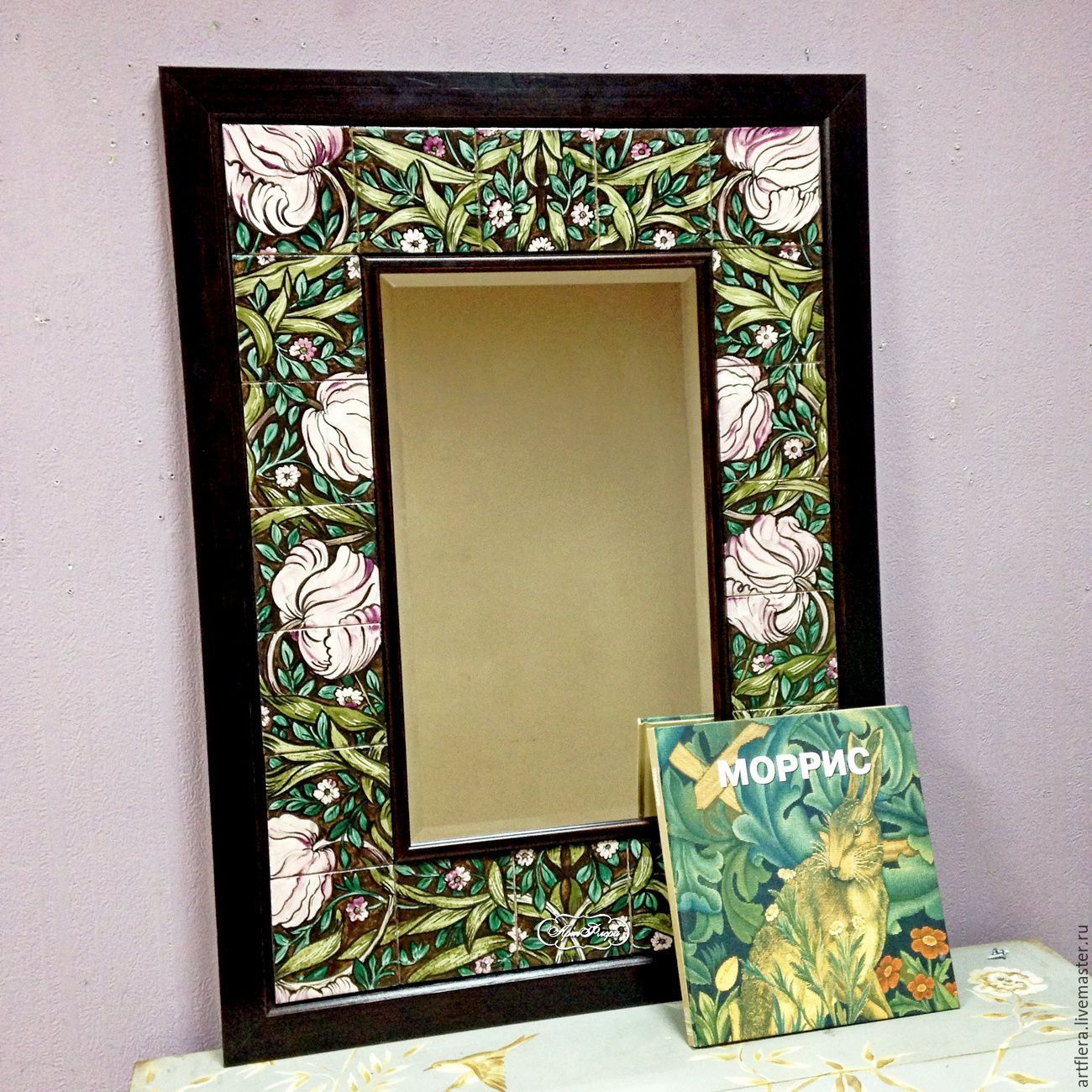 Декор зеркала своими руками : 10 мастер классов и 50 фото
