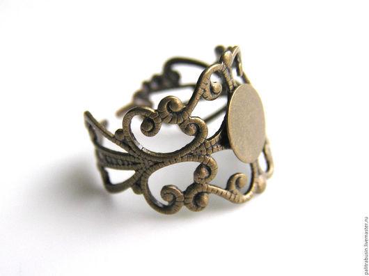 Для украшений ручной работы. Ярмарка Мастеров - ручная работа. Купить Основа для кольца. Handmade. Основа для кольца, фурнитура для бижутерии