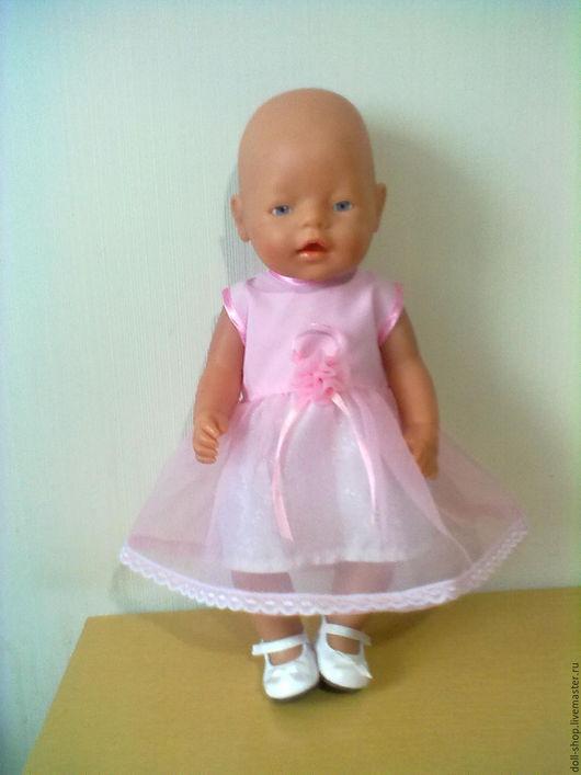 Одежда для кукол ручной работы. Ярмарка Мастеров - ручная работа. Купить Одежда для кукол. Платье. Handmade. Розовый