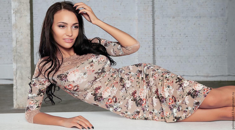 """Бежевое платье """"Felice"""", Dresses, Moscow,  Фото №1"""