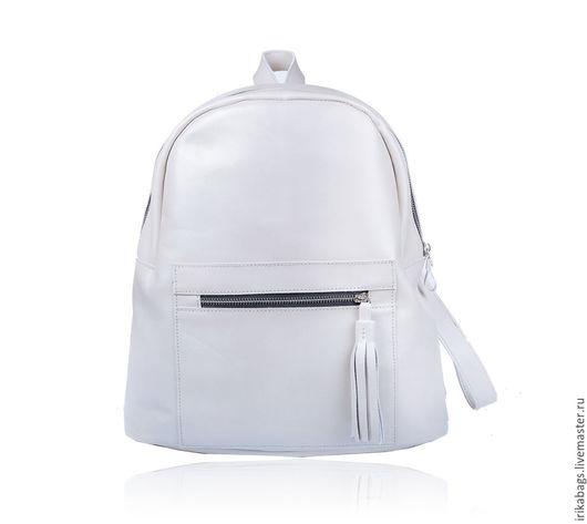 Рюкзаки ручной работы. Ярмарка Мастеров - ручная работа. Купить Cousine, элегантный рюкзак. Handmade. Однотонный, вместительная сумка