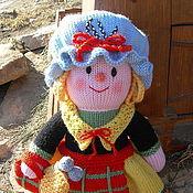 Куклы и игрушки ручной работы. Ярмарка Мастеров - ручная работа Кукла. Вязаная кукла из шерсти В шотландском стиле. Handmade.