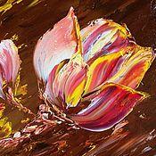 Картины и панно handmade. Livemaster - original item Oil painting Tulip. Handmade.