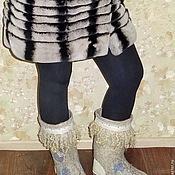 """Обувь ручной работы. Ярмарка Мастеров - ручная работа валенки """"Радостные"""". Handmade."""