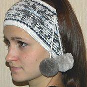 Аксессуары handmade. Livemaster - original item Headband knitted. Handmade.