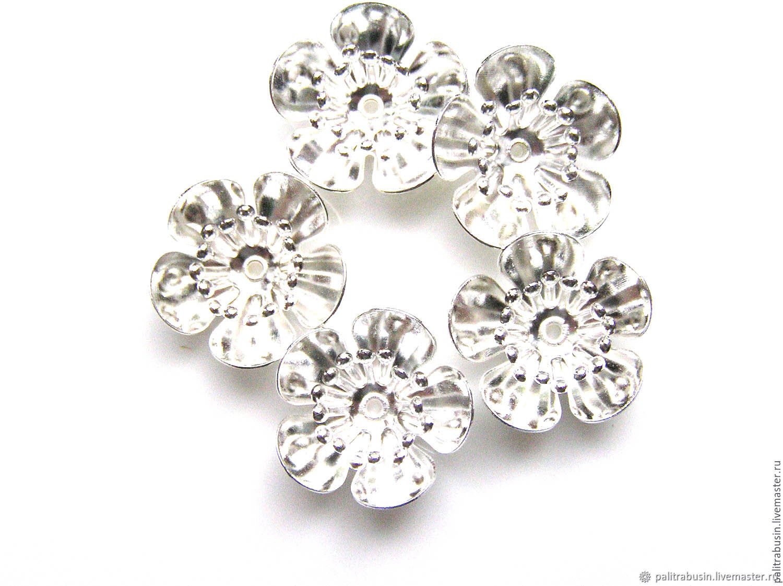 bead caps, Accessories for jewelry, Tyumen,  Фото №1