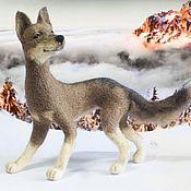 Куклы и игрушки handmade. Livemaster - original item Dog Roni Interior toy, felted out of wool. Handmade.