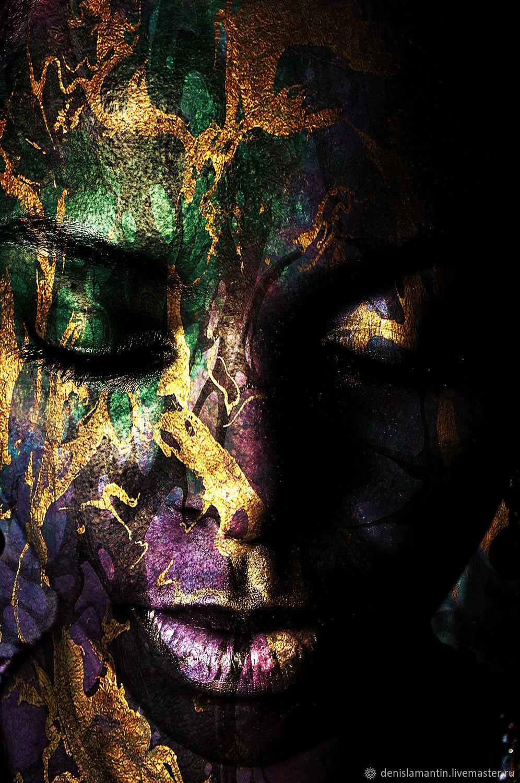 Арт-портрет Сон африканки