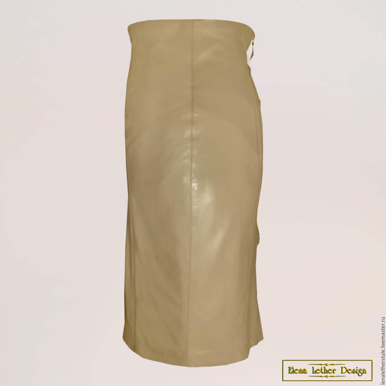 Купить кожаную юбку с доставкой