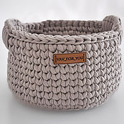 Для дома и интерьера handmade. Livemaster - original item basket:. Handmade.