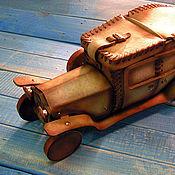 Для дома и интерьера handmade. Livemaster - original item Leather box