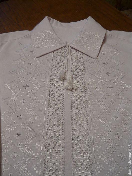 Этническая одежда ручной работы. Ярмарка Мастеров - ручная работа. Купить Мужская сорочка, ручная вышивка. Handmade. Этностиль, орнамент