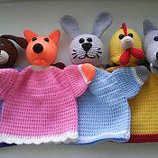 Куклы и игрушки ручной работы. Ярмарка Мастеров - ручная работа Перчаточнаые игрушки.. Handmade.