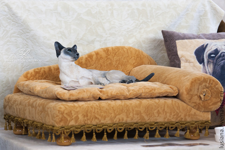 Sofa for dog or cat Laura, Accessories for Pets, Ekaterinburg,  Фото №1