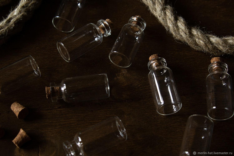Стеклянная бутылочка 5 мл, Флаконы, Тамбов,  Фото №1