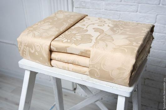 Текстиль, ковры ручной работы. Ярмарка Мастеров - ручная работа. Купить Подарок на новый год постельное белье тенсель Монако. Handmade.