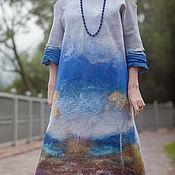"""Одежда ручной работы. Ярмарка Мастеров - ручная работа Платье """"Небесная глазурь"""" 16005. Handmade."""