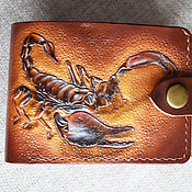 Сумки и аксессуары handmade. Livemaster - original item Trifold purse. Handmade.