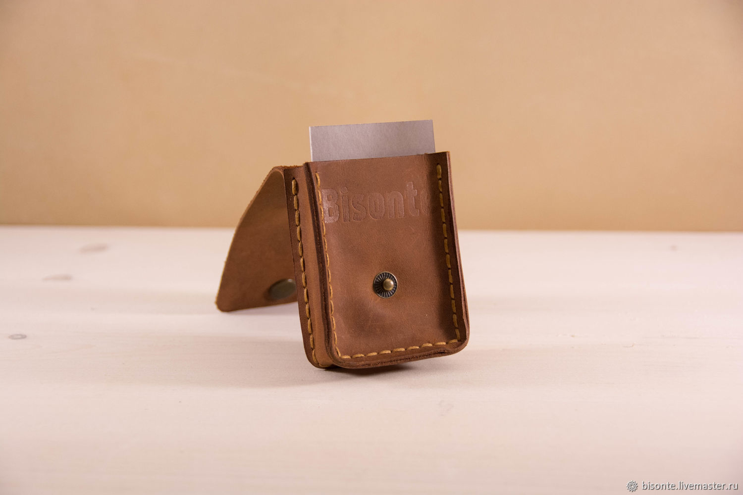 Cardholders leather business card holder, Business card holders, Moscow,  Фото №1