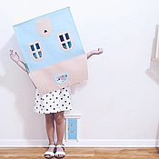 Для дома и интерьера ручной работы. Ярмарка Мастеров - ручная работа Домик для хранения игрушек. Handmade.
