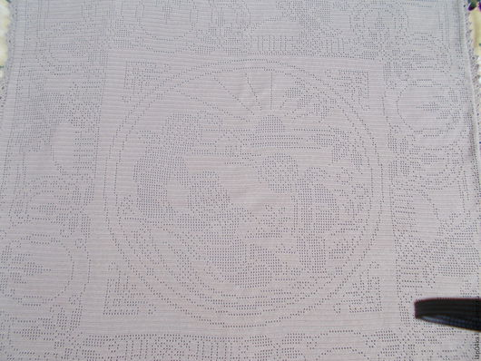 """Пледы и одеяла ручной работы. Ярмарка Мастеров - ручная работа. Купить Плед с подкладом """"Семь ангелов"""". Handmade. Бежевый"""
