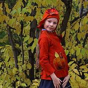 Работы для детей, ручной работы. Ярмарка Мастеров - ручная работа Жакет Королева осени. Handmade.