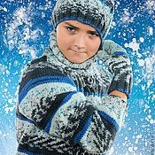 Работы для детей, ручной работы. Ярмарка Мастеров - ручная работа комплект зима. Handmade.
