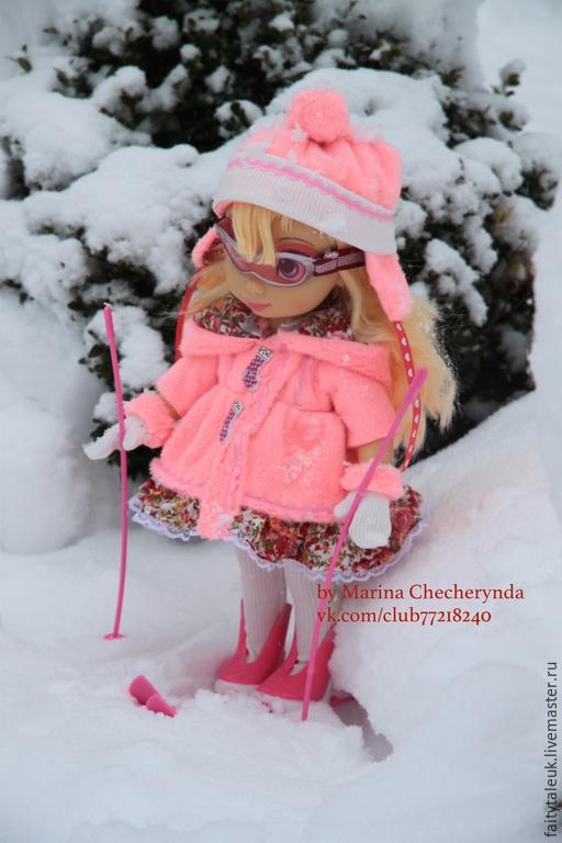 Одежда для кукол ручной работы. Ярмарка Мастеров - ручная работа. Купить Теплая одежда для куклы Дисней Disney. Handmade. Кукла