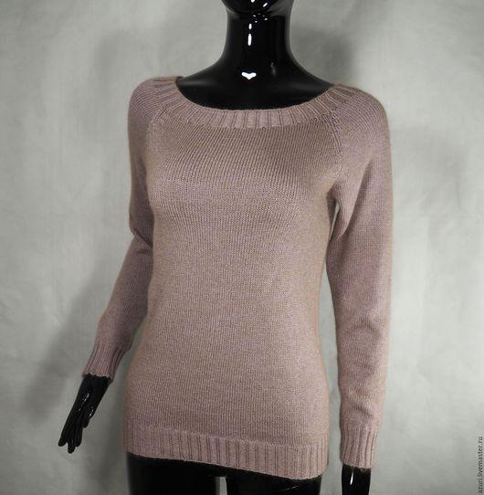 Кофты и свитера ручной работы. Ярмарка Мастеров - ручная работа. Купить Джемпер перламутрово-розовый. Handmade. Бледно-розовый