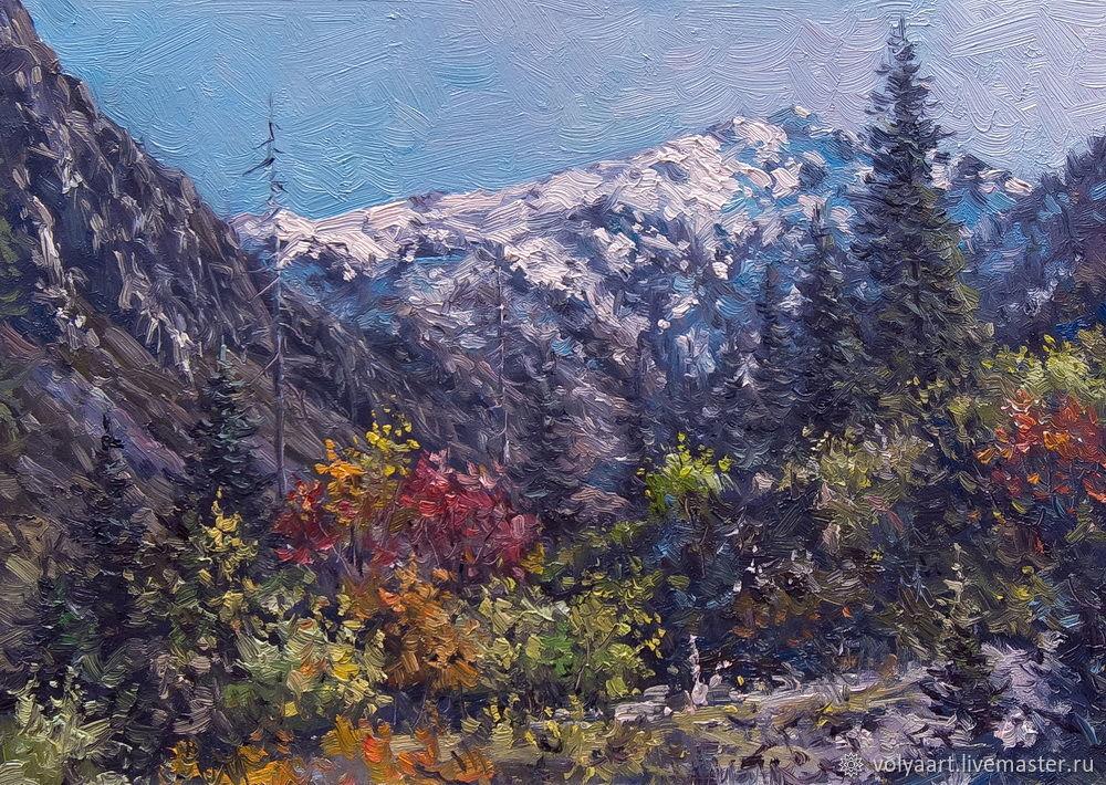 Etude. 25h35 cm. oil on canvas, Pictures, Naberezhnye Chelny, Фото №1