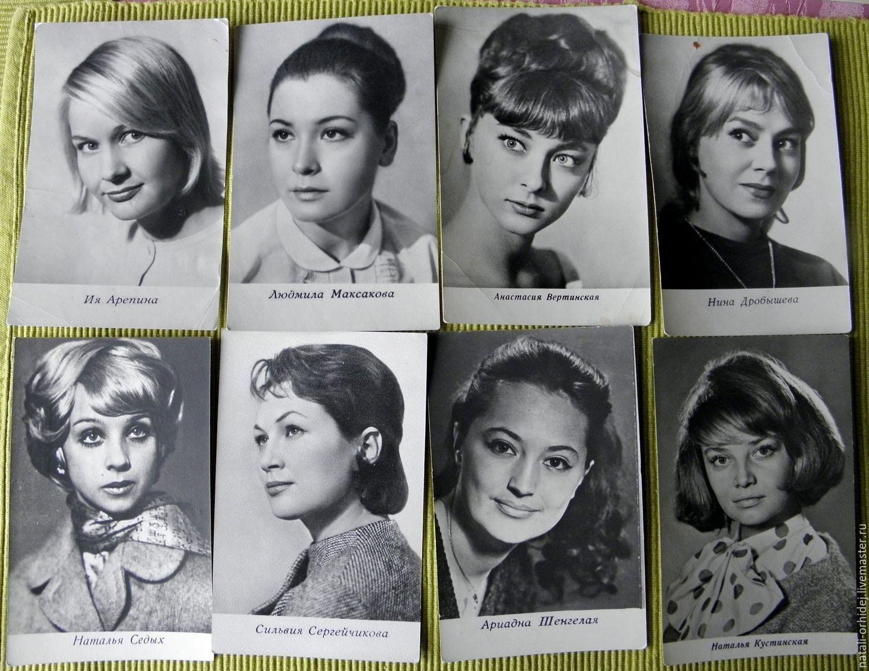 Все фото открытки артистов советского кино