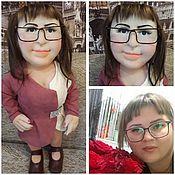 Портретная кукла ручной работы. Ярмарка Мастеров - ручная работа Портретная кукла по фотографии. Handmade.