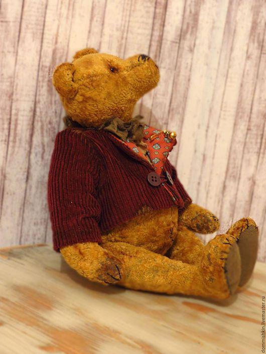 Мишки Тедди ручной работы. Ярмарка Мастеров - ручная работа. Купить Barti. Handmade. Коричневый, авторская выкройка, грануллят