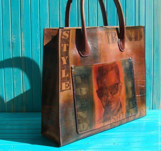 Женские сумки ручной работы. Ярмарка Мастеров - ручная работа. Купить Женская сумка кожаная  Art.. Handmade. Комбинированный