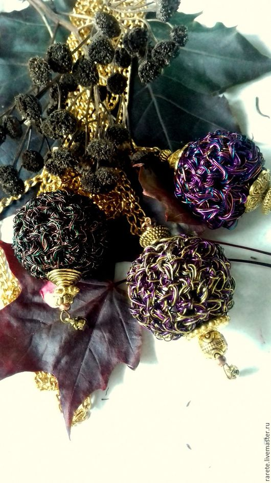 """Кулоны, подвески ручной работы. Ярмарка Мастеров - ручная работа. Купить Подвеска """" Осенний сон"""". Handmade."""